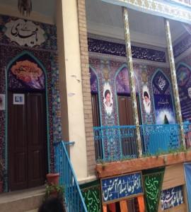 وضعيت فعلي حياط بيروني منزل حاج محمد كاظم قندي