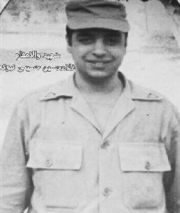 شهيد غلامحسين حسيني نبوي ويژه در لباس مقدس سربازي