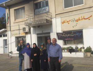 دبيرستان دخترانه شريف چالوس در محل خانه حاج محمد صادق قندي